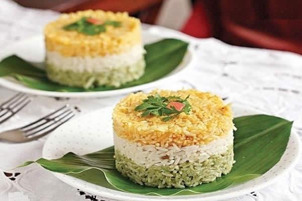 دستور پخت برنج گلستان